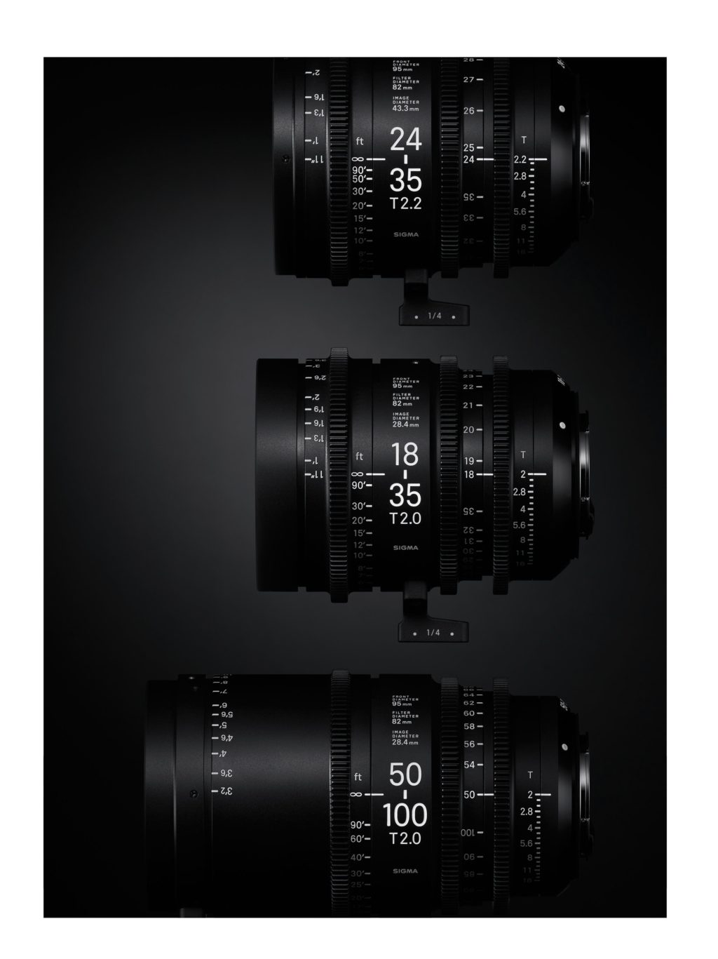 Sigma Announces Cinema Lens Line High Speed Zooms
