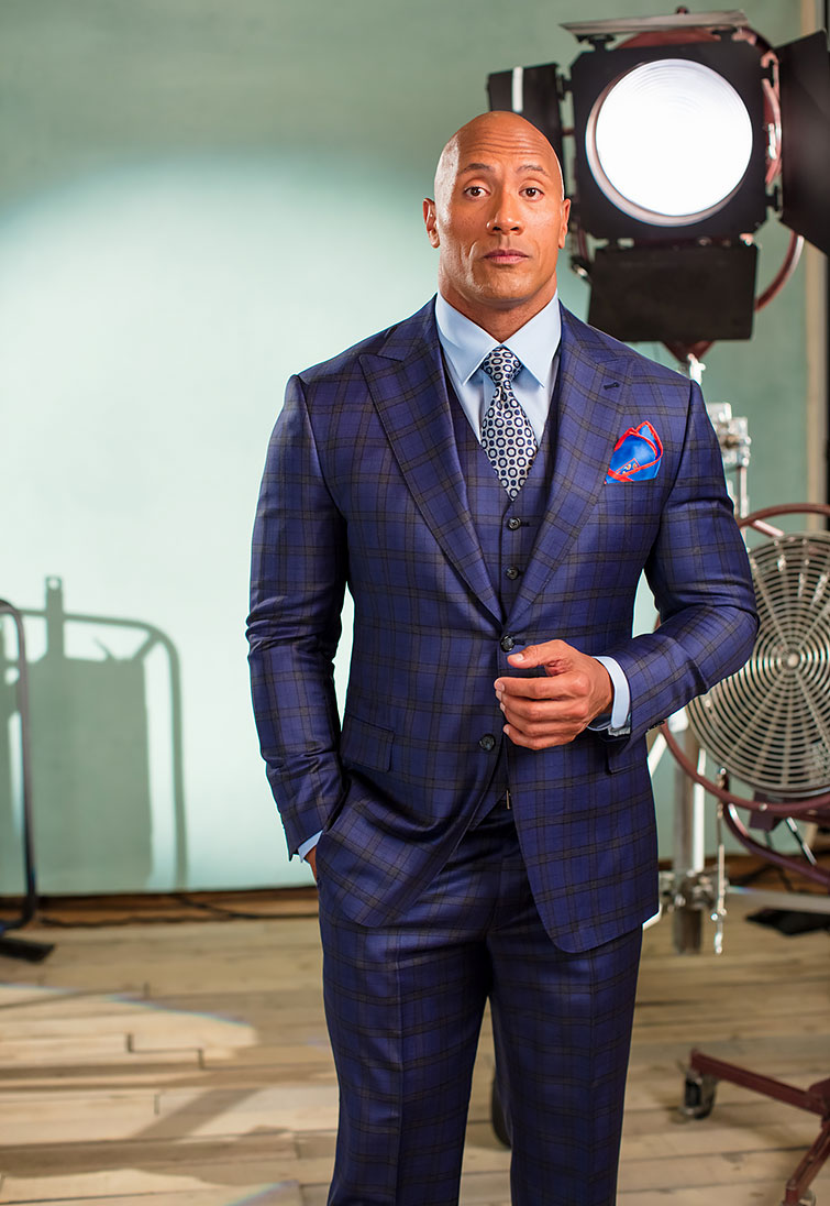 Portrait of actor Dwayne Johnson Portrait of actor Dwayne Johnson Beverly Hills Hotel/Beverly Hills, CA, USA 11/14/2016 SI-619 TK1 Credit: LeBrecht II, Michael J.