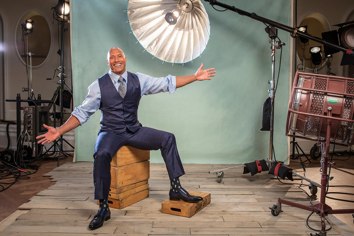 Portrait of actor Dwayne Johnson Beverly Hills Hotel/Beverly Hills, CA, USA 11/14/2016 SI-619 TK1 Credit: Michael J. LeBrecht II