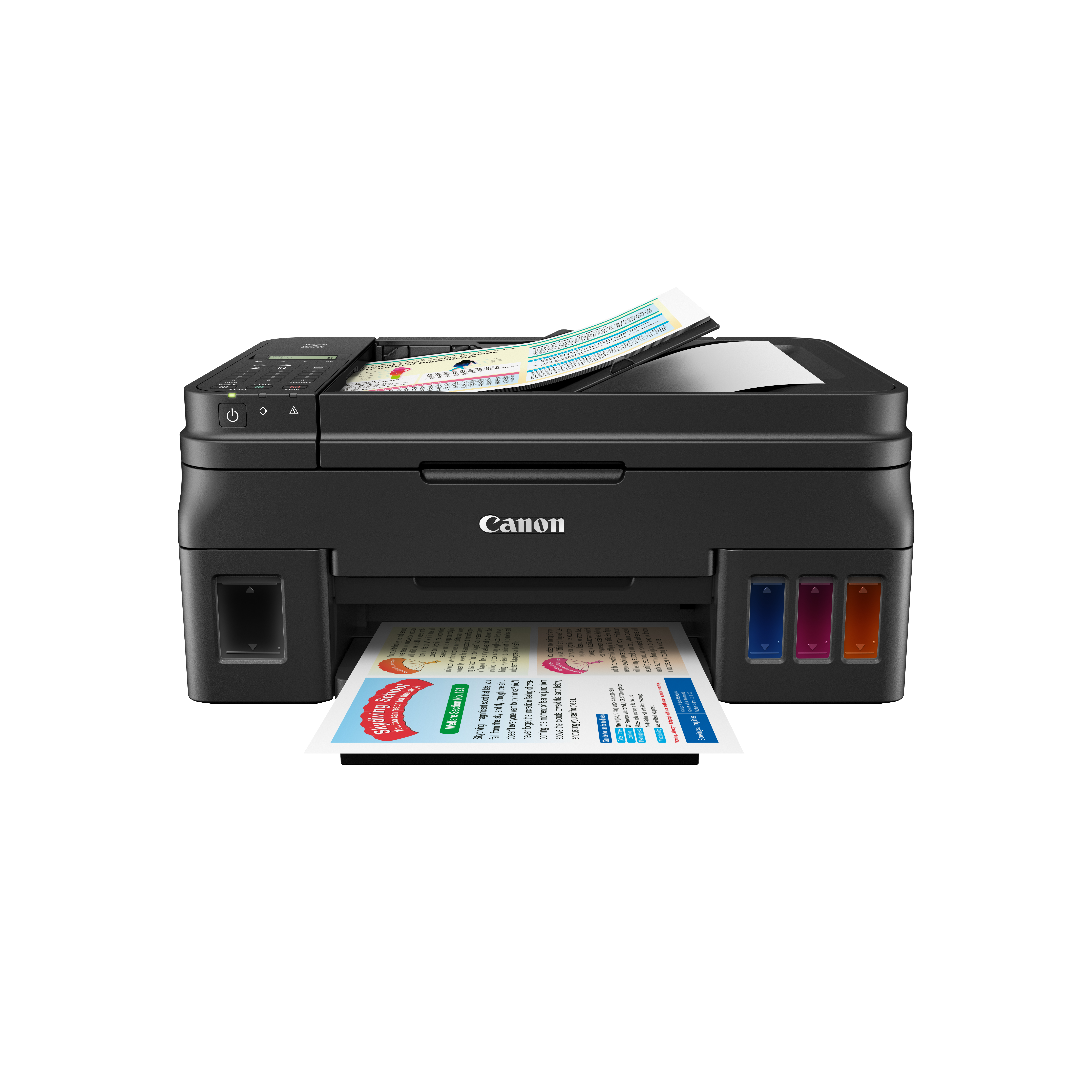 Canon Has A New Line Of Home Printers With Refillable Ink Canisters Instead Of Cartridges