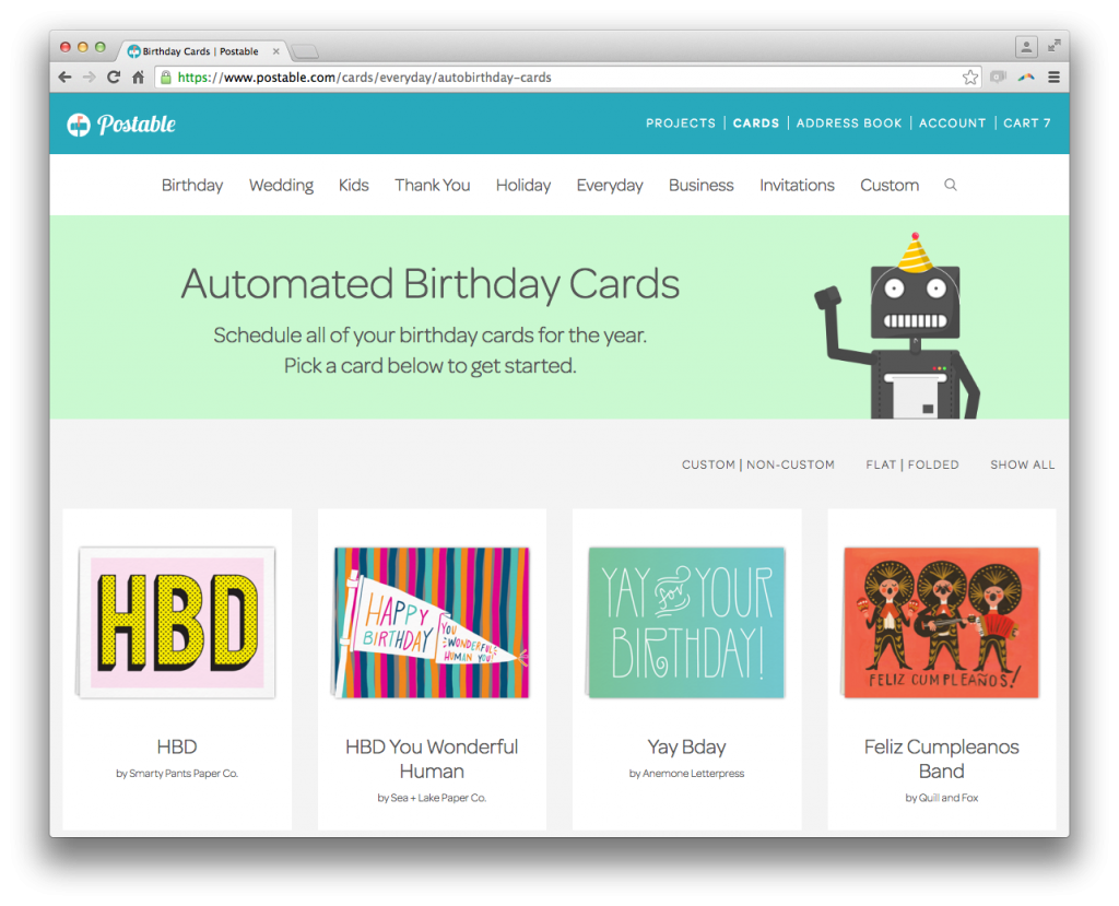 Impress Clients With Automated Birthday Cards Resource