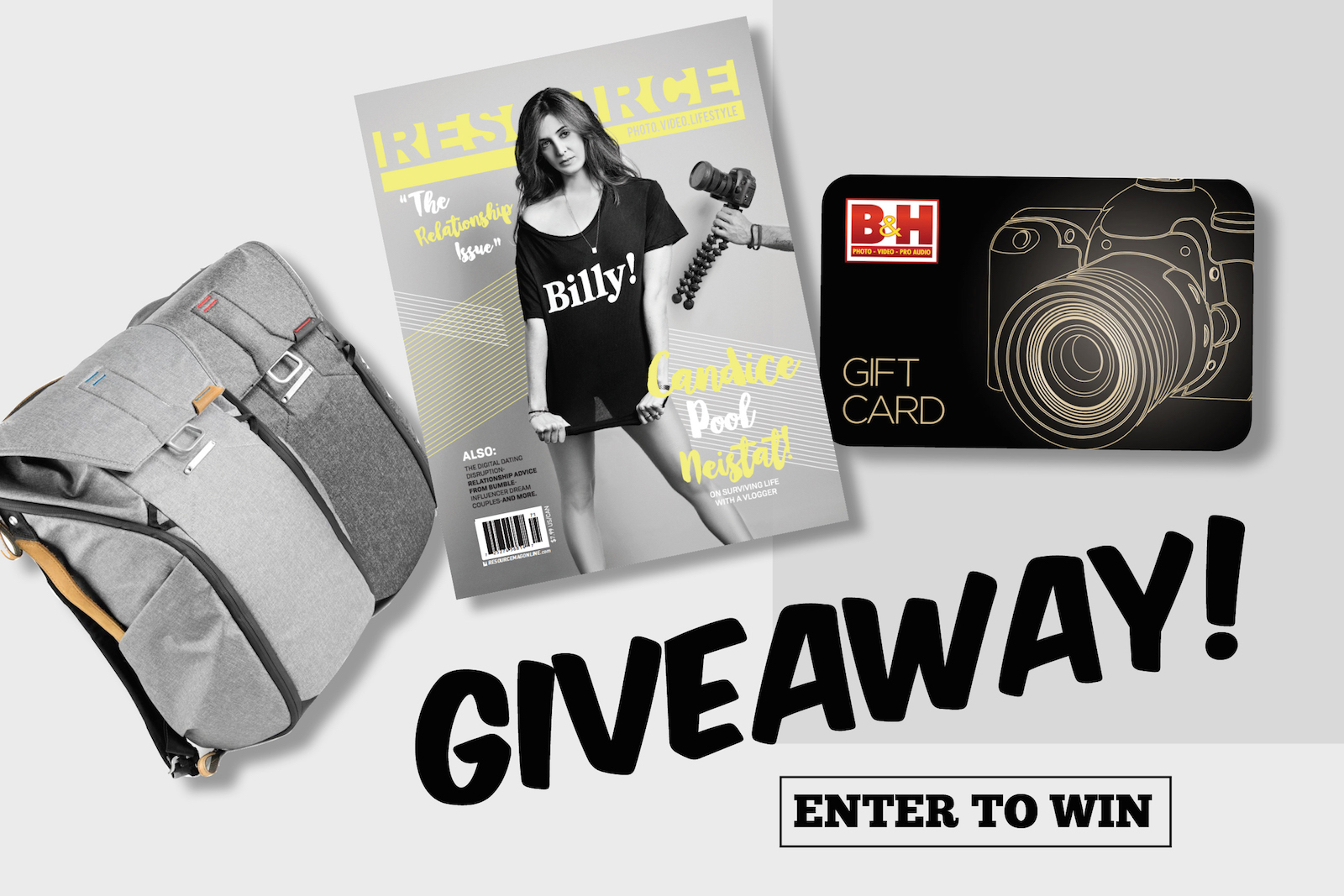 Win a Peak Design Everyday Backpack, $100 B&H Gift Card ...