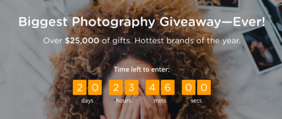 Picr Announces The Biggest Photography Giveaway Ever