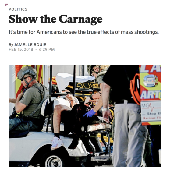 How Should Photojournalists Cover Tragedies?