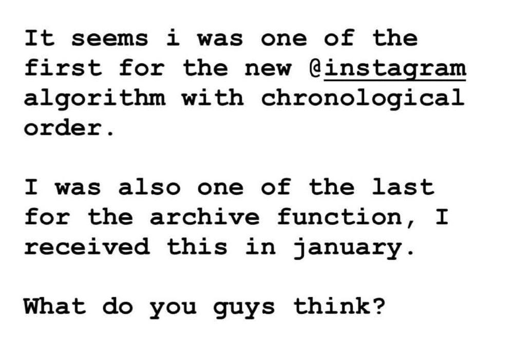 Is Instagram Bringing Back Chronological Order? - Resource