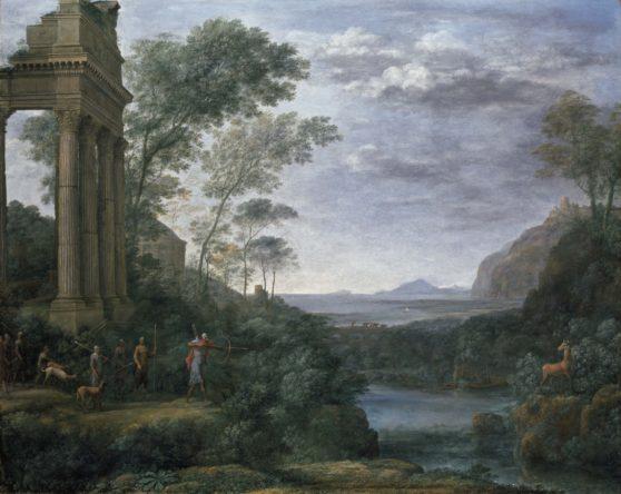 painting, classic, landscape
