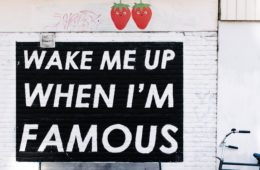 famous, sign, wake me up