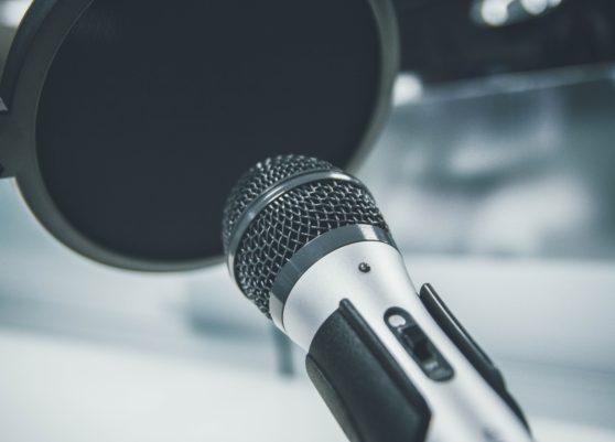 microphone, talking, recording