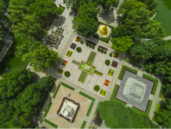 drone, china, from above