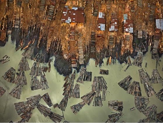 industrial landscape, logging