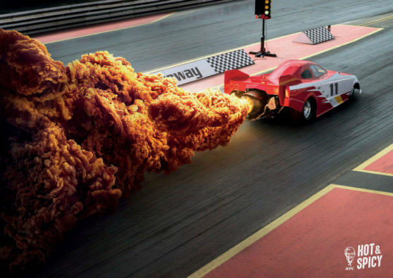 racecar, chicken, KFC