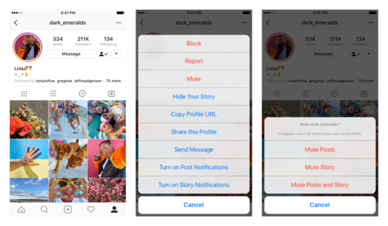 "Instagram Will Now Let You ""Mute"" Accounts—Because an"