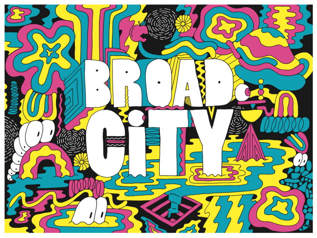 Broad City Opener by Mike Perry