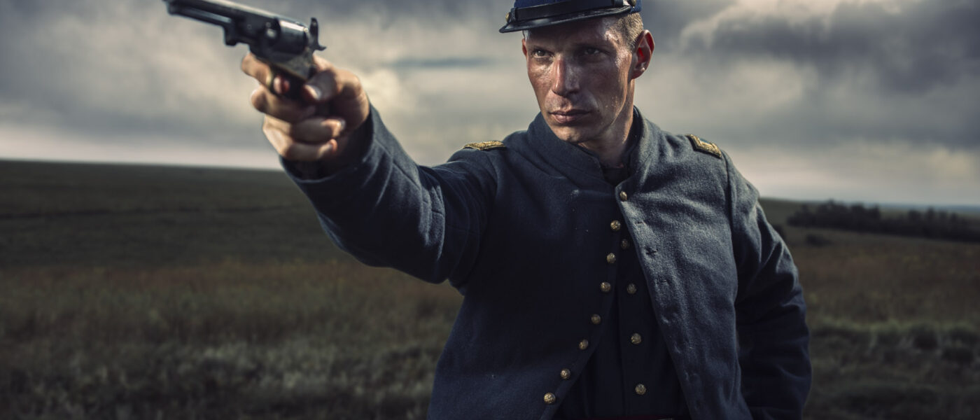 Cinematic color grade civil war soldier justin lister